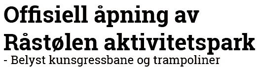 apning